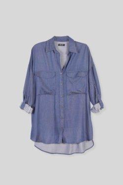 venta camisa PRAGA azul